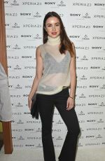 EMMA MILLER at Sony Pool Party at Haymarket Hotel in London