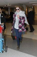 EMMA ROBERTS at LAX Airport in Los Angeles 1411