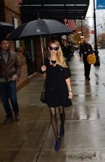 EMMA ROBERTS Out and About in New York 1711