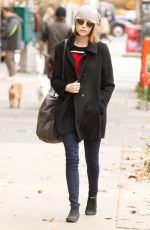 EMMA STONE Out and About n New York 2511