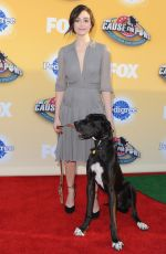 EMMY ROSSUM at Fox's Cause for Pawns an All-Star Dog Event in Santa Monica