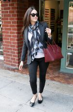 EMMY ROSSUM Leaves a Nail Salon in Los Angeles 1211