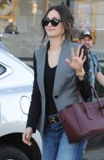 EMMY ROSSUM Out Shopping in West Hollywood