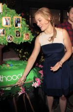 ERIKA CHRISTENSEN at Parenthood 100th Episode Celebration in Universal City