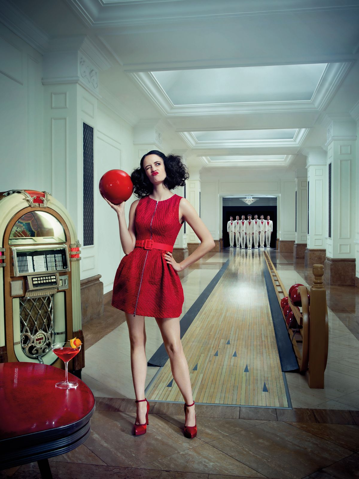 Kendall Jenner Red Carpet Green