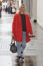 FEARNE COTTON Arrives at BBC Radio 1 Studios in London 1711