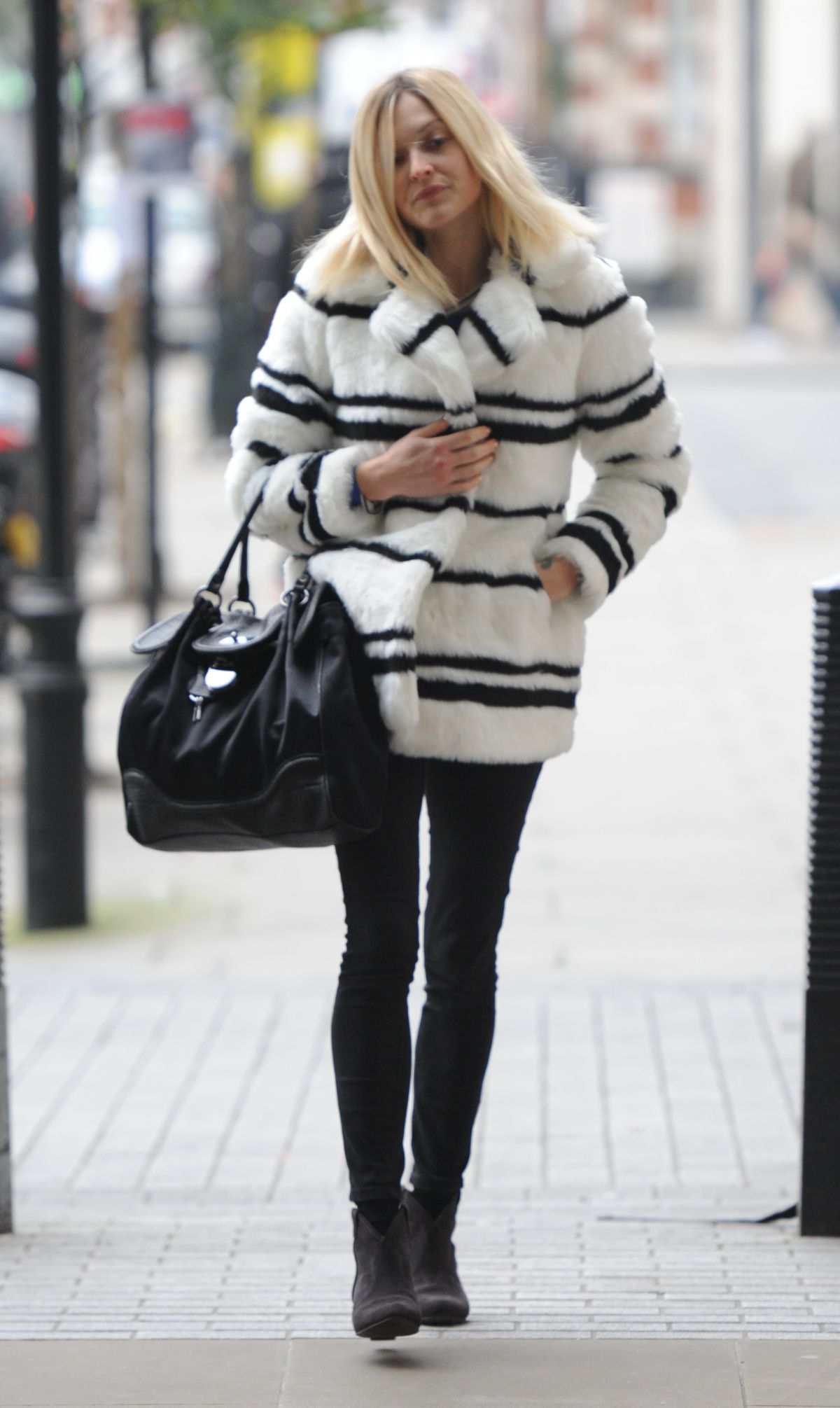 FEARNE COTTON Arrives at BBC Radio 1 Studios in London 2111