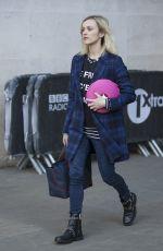 FEARNE COTTON Leaves BBC Radio 1 Studios in London