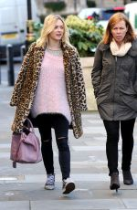 FEARNE COTTON Out and About in London 1211