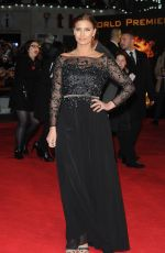 FEARNE MCCAN at The Hunger Games: Mockingjay Part 1 Premiere in London