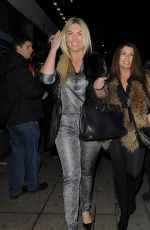 FRANKIE ESSEX at Now Christmas Party in London