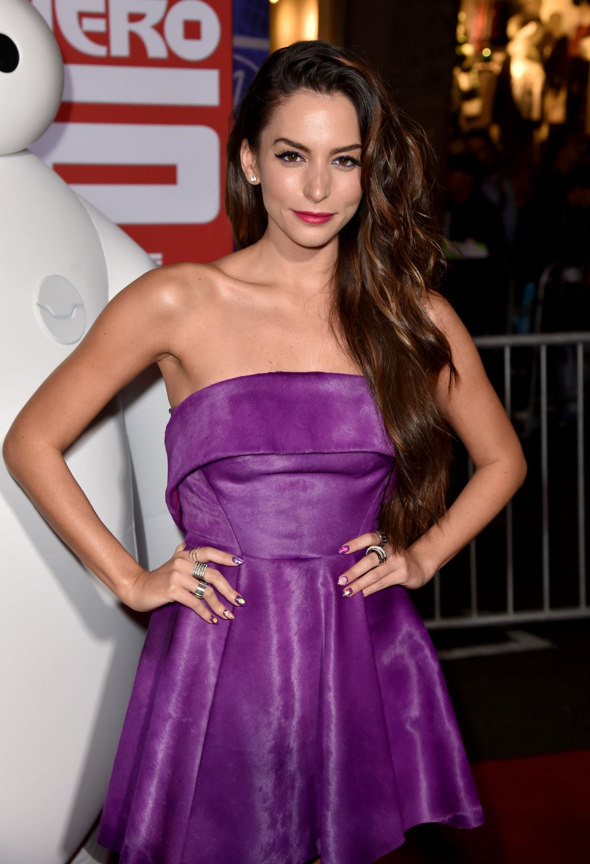 Genesis Rodriguez At Big Hero 6 Premiere In Hollywood