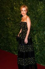 GILLIAN ANDERSON at 2014 London Evening Standard Theatre Awards