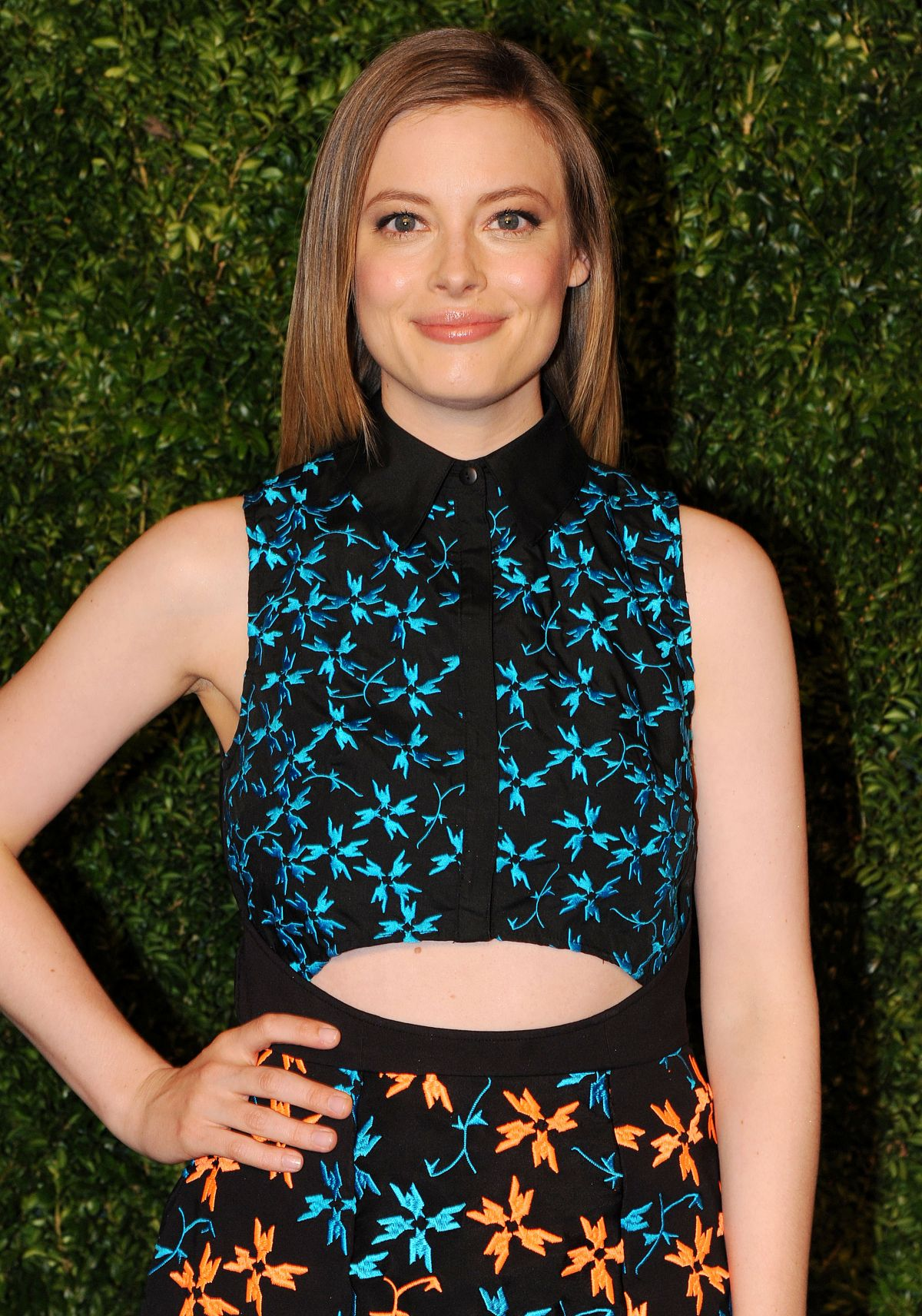 GILLIAN JACOBS at 2014 Cfda/Vogue Fashion Fund Awards in New York