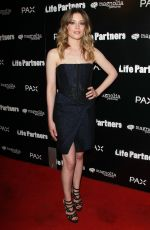GILLIAN JACOBS at Life Partners Premiere in Hollywood
