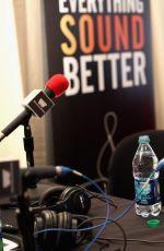 GREER GRAMMER at 2014 American Music Awards Radio Row in Los Angeles