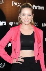 GREER GRAMMER at Life Partners Premiere in Hollywood