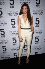 HAILEE STEINFELD at Topshop Topman Opening Dinner in New York