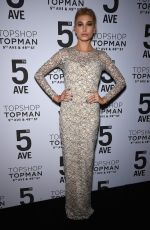 HAILEY BALDWIN at Topshop Topman Opening Dinner in New York