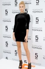 HAILEY BALDWIN at Topshop Topman Store Opening in New York