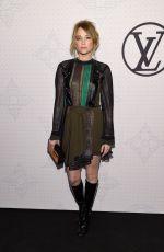 HAYLEY BENNETT at Louis Vuitton Monogram Celebration in New York