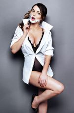 HELEN FLANAGAN Shaving - The Sun Magazine, 1st November 2014