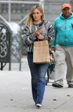 HILARY DUFF Out and About in New York 0711