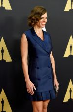 HILARY SWANK at AMPAS 2014 Governor's Awards in Hollywood