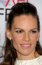 HILARY SWANK at The Homesman premiere at AFI Fest in Hollywood
