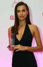IRINA SHAYK at 2014 Glamour Women of the Year Awards in Moscow