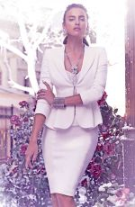 IRINA SHAYK - Bebe Winter in Wonderland Holiday Collection