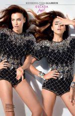 IRINA SHAYK in Glamour Magazine, Russia December 2014 Issue
