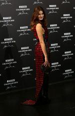 ISABELI FONTANA at Pirelli Calendar 2015 Premiere in Milan