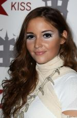 JACQUELINE JOSSA at Kiss FM Haunted House Party in London