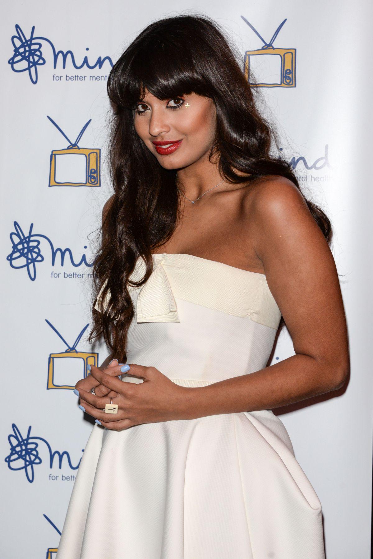 JAMEELA JAIMIL at 2014 Mind Media Awards in London