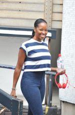 JAMELIA Leaves ITV Studios in London 0110