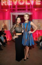 JANEL PARRISH at Revolve Pop-up Launch Party in Los Angeles