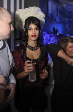 JASMIN WALIA at a Halloween Party