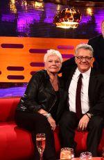 JENNIFER ANISTON on The Graham Norton Show in London
