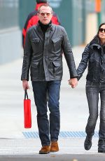 JENNIFER CONNELLY and Paul Bettany Out in Tribeca