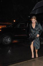 JENNIFER LAWRENCE Arrives at The Colbert Report in New York