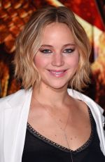 JENNIFER LAWRENCE at The Hunger Games: Mockingjay Part 1 Photocall in London