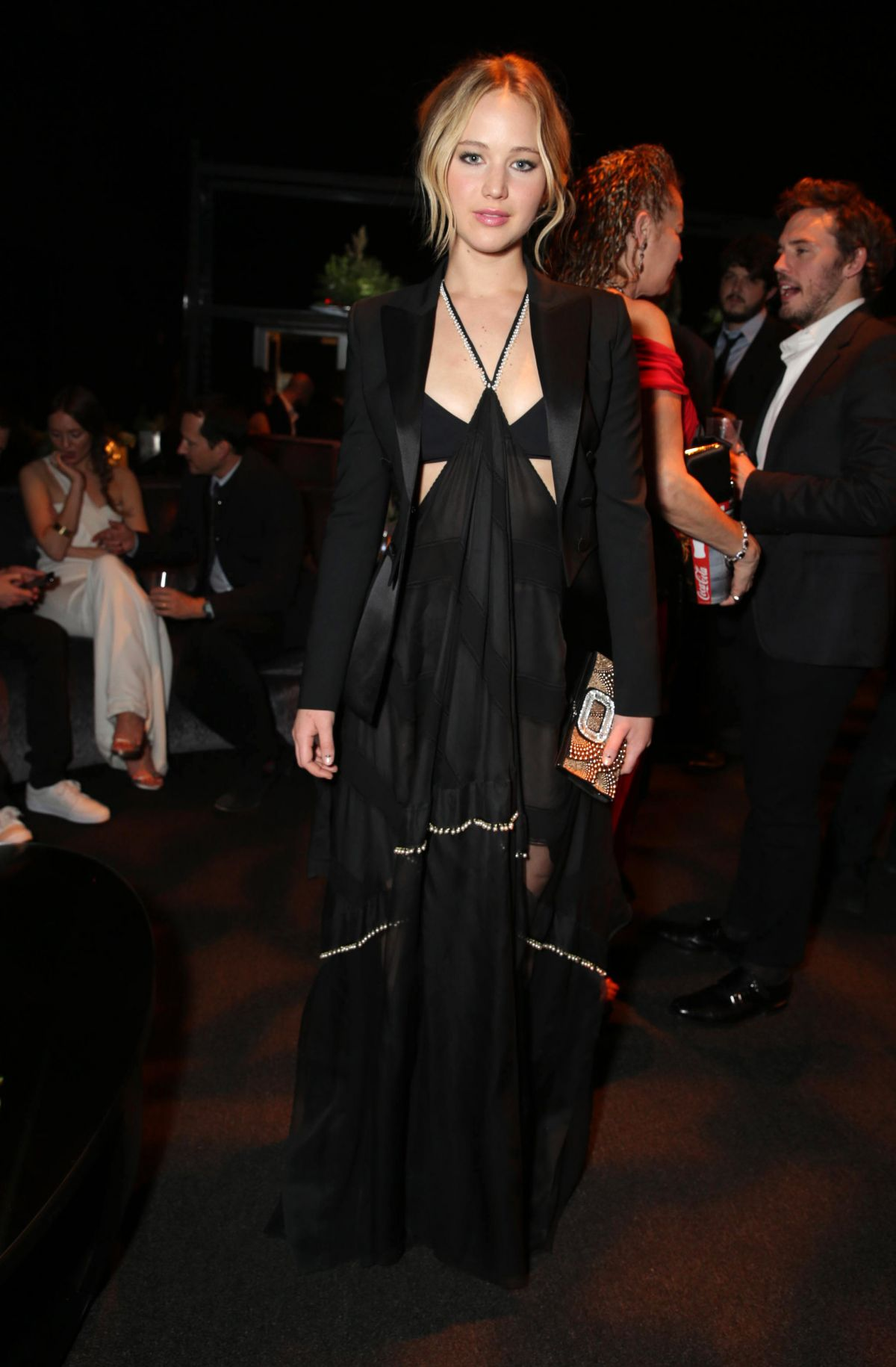 JENNIFER LAWRENCE at The Hunger Games: Mockingjay – Part 1 Premiere Afterparty in Los Angeles