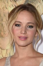 JENNIFER LAWRENCE at The Hunger Games: Mockingjay – Part 1 Premiere in Los Angeles
