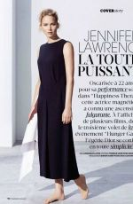 JENNIFER LAWRENCE in Madame Figaro Magazine, December 2014 Issue