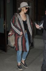 JENNIFER LAWRENCE Leaves Her Hotel in New York 1611