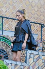 JENNIFER LOPEZ at a Photoshoot in Hollywood Hills