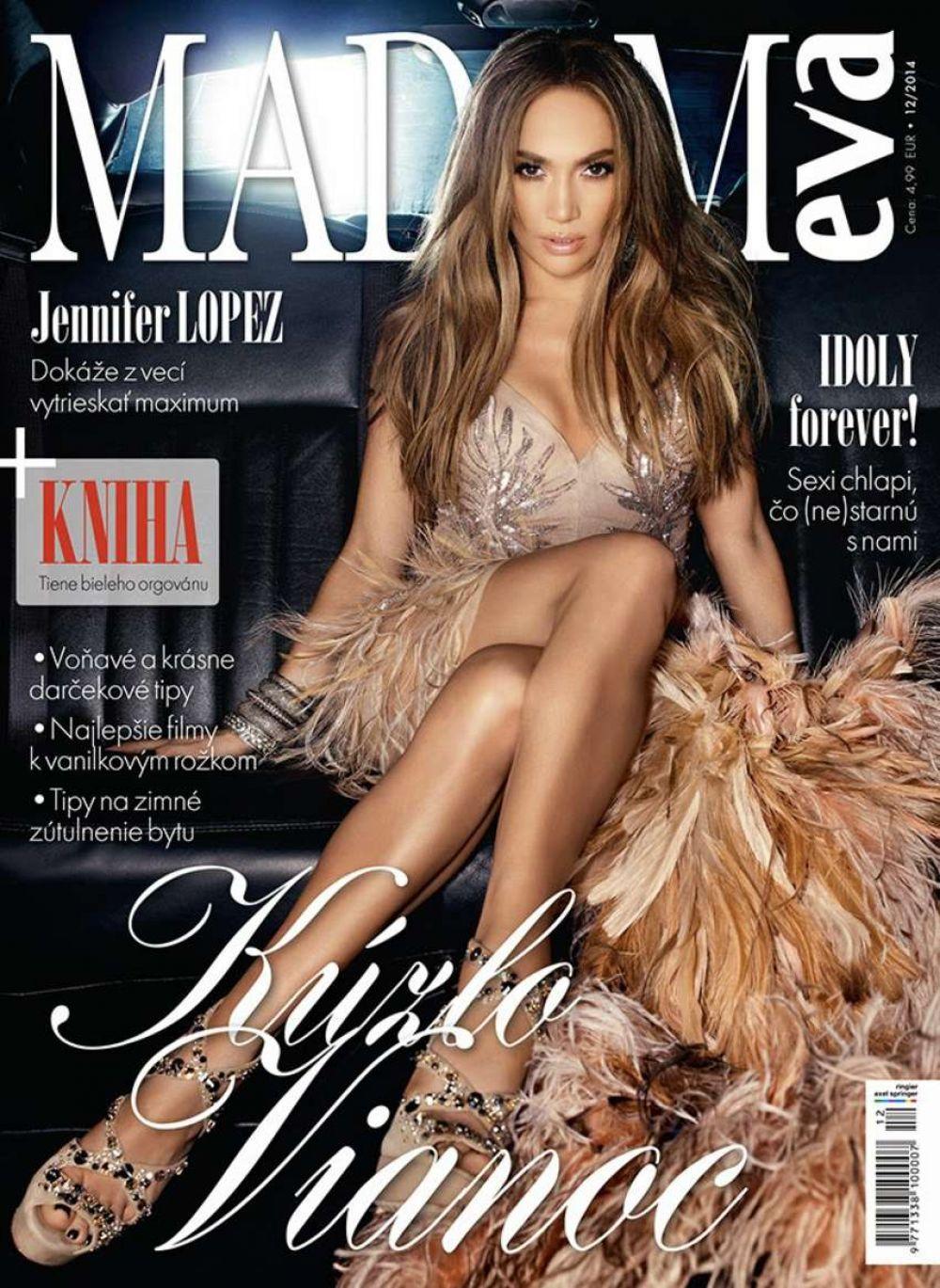 JENNIFER LOPEZ on the Cover of Madam Eva Magazine, December 2014 Issue