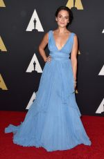 JENNY SLATE at AMPAS 2014 Governor's Awards in Hollywood