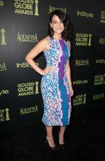 JENNY SLATE at Hfpa & Instyle Celebrate 2015 Golden Globe Award Season